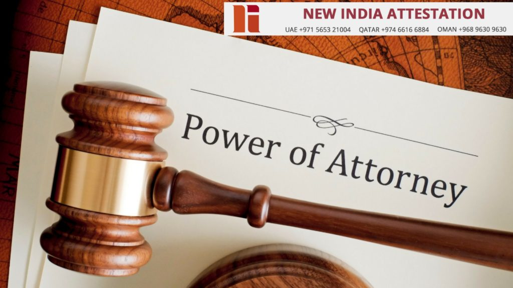Power of Attorney Attestation in Qatar