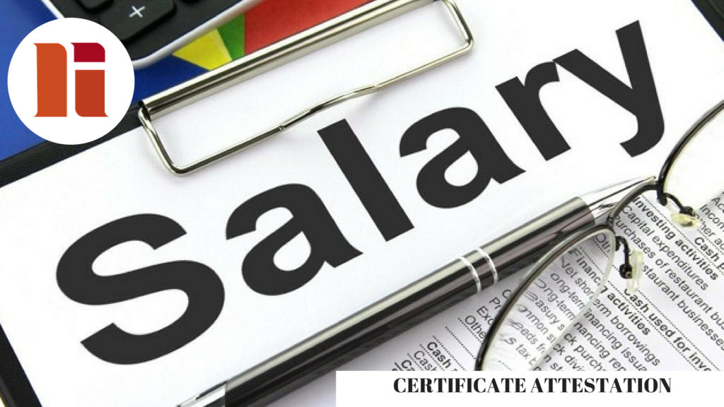 Salary Certificate Attestation in Qatar