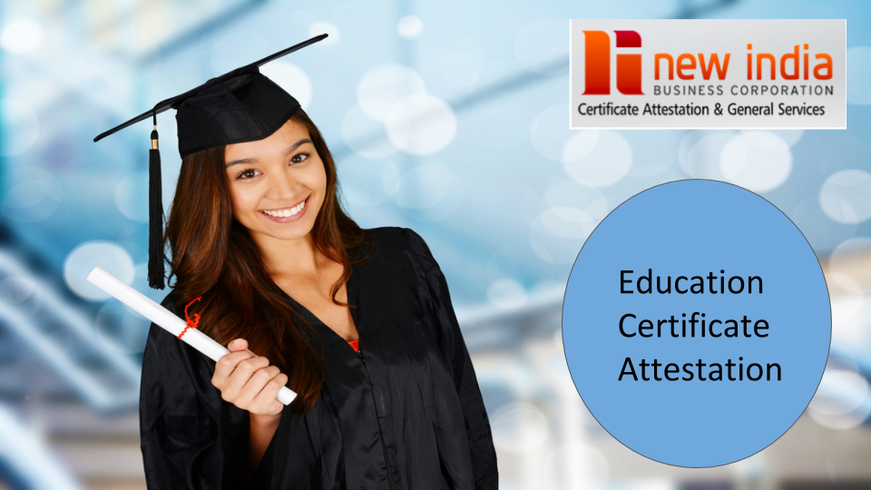 How to do Education Certificate Attestation in Oman