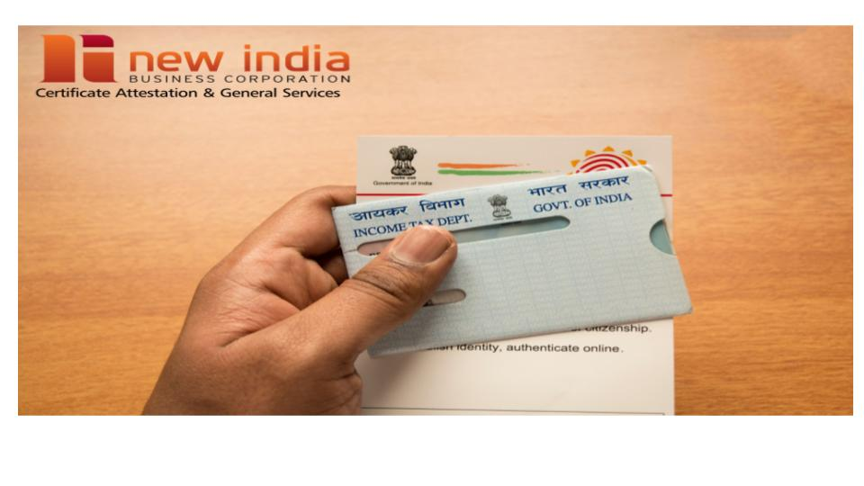 All About Indian PAN Card Services