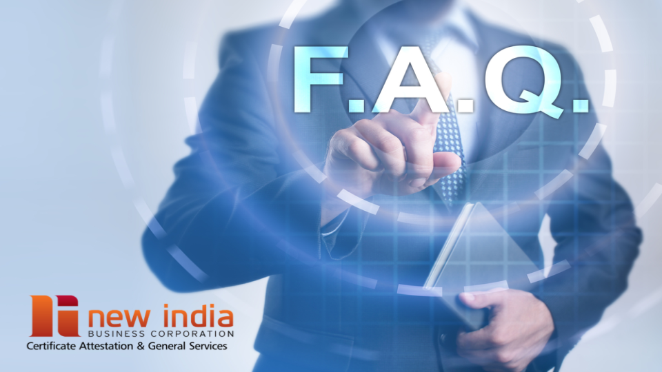 FAQs on Attestation and Apostille