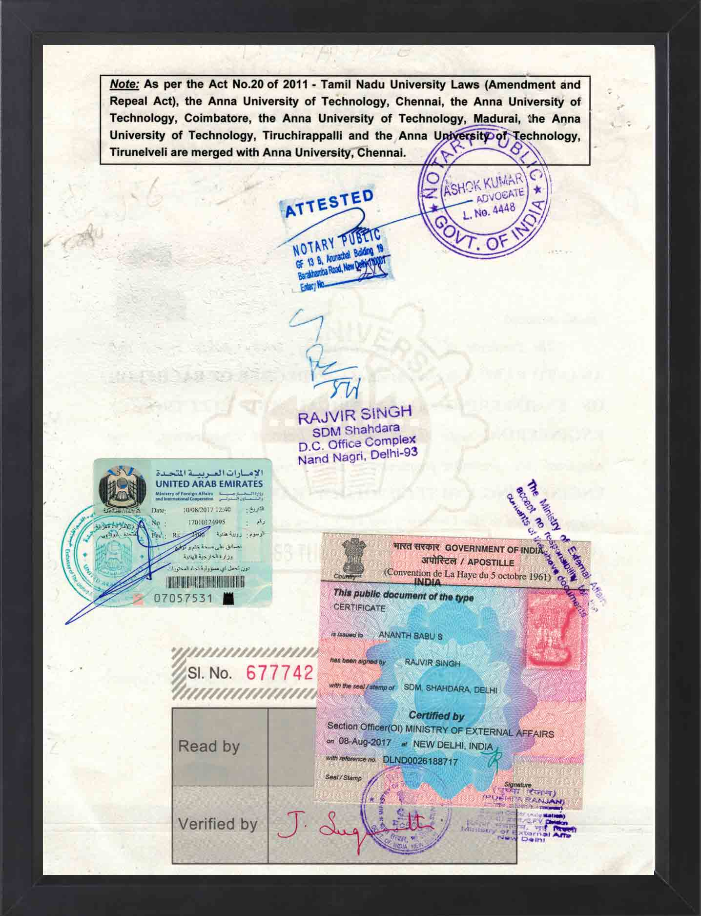 New india attestation certificate attestation services in uae attestation services in oman yadclub Choice Image
